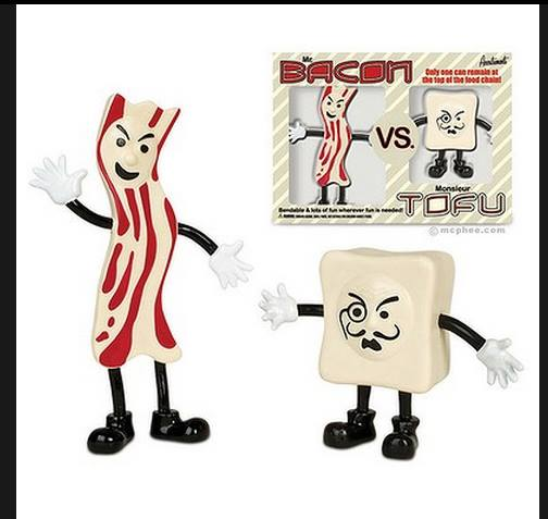mr bacon vs monsoir tofu