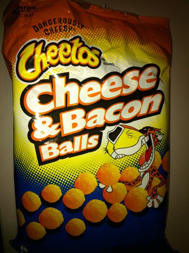 cheese & bacon balls