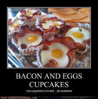 breakfast cupcakes!