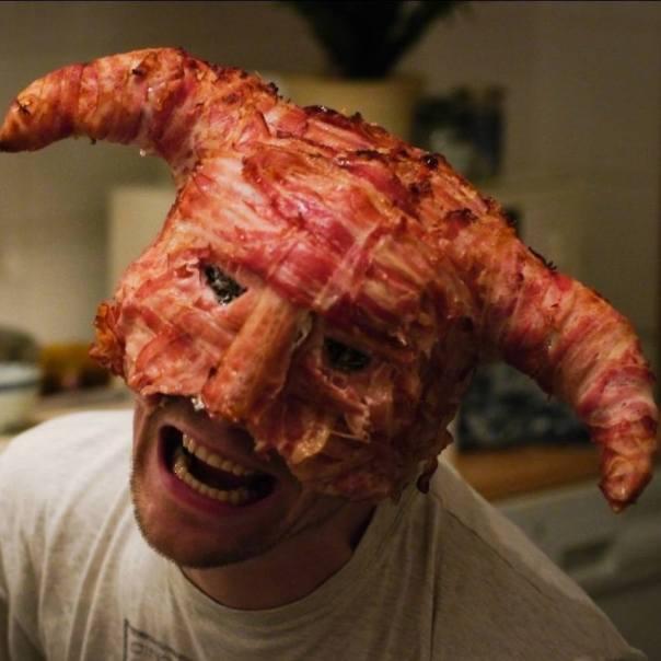 evil bacon
